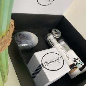 Estuche regalo de cosmética con AOVE – PACK1