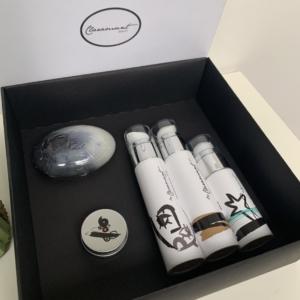 Estuche regalo de cosmética con AOVE – PACK3